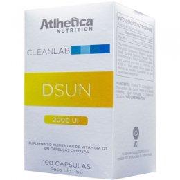 CleanLab DSun Vitamina D3 2000UI (100 softgels)