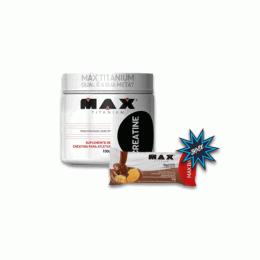 Creatine Monohidrata (100g) + Max Bar (30g)
